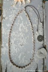 Zakuro shell Lei Necklace No,3~No,5
