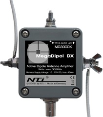 MegaDipol MD-300DX アクティブ受信アンテナ