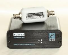 FDM-S2とハイパスフィルタ(2MHz)のセット