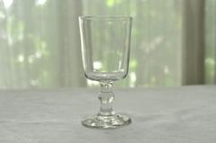 【1775-D】19世紀 吹きガラスのワイングラス・ビストログラス