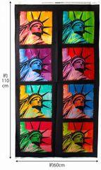 布「自由の女神」ポップアート