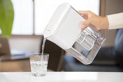 高性能携帯型浄水ポッド ULeAU/ウルオ(カートリッジ1本付)