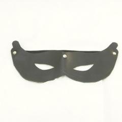 送料無料!(SM-001)  レザーマスク 黒 仮面 コスプレに ジョークグッズ