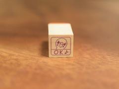 インコのOK(ミニサイズ)