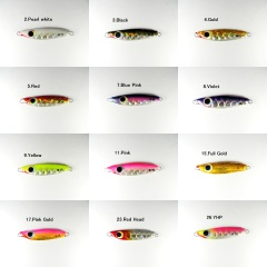 Rude the R-15(15g-55mm) Slow Casting Jigs