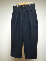 tuki tapered pants wool