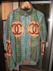 ccp x softs african batik riding shirt jacket special