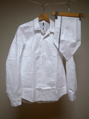 ccp x softs ghost tyvek shirt set