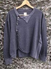 tutaee x softs black indigo cardigan kichijoji