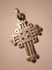 coptic cross made of silver B