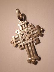 coptic cross made of silver B
