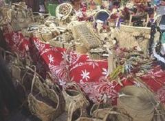 タヒチ島工芸職人ワークショップ