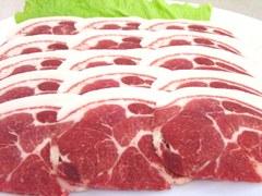 イノシシ肉 肩ロース 500g(スライス)風味豊かな特上ロース