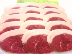イノシシ肉 ロース500g (スライス)ぼたん鍋に!