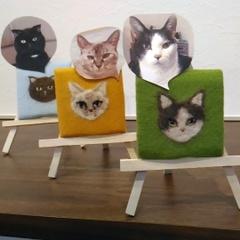 猫毛ポートレート(オーダー商品)