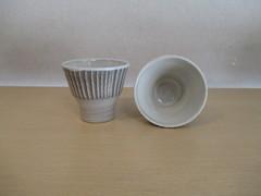 刷毛目フリーカップ(小) 早29-4-c3