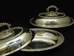 英国貴族気分♡ヴィクトリア時代のドーム付きディナープレートセット