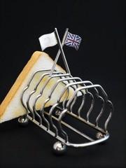 ユニオンジャック(イギリスの国旗)の幅広トーストラック