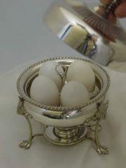 博物館級&美品!優雅な卓上エッグコドラー(ゆで卵器)