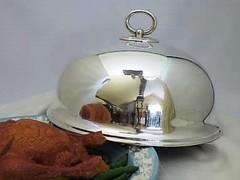 熱々料理を匂いと共にテーブルへ♪ ディナープレートカバー ヴィクトリア時代