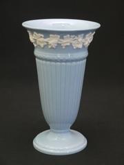 超美品♡ウェッジウッド|クイーンズウェアの花瓶(プレーンエッジ)
