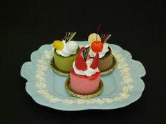 ウェッジウッド|クイーンズウェアのサンドイッチ/ケーキプレート
