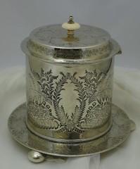 博物館級♪ヴィクトリア時代の優雅なビスケットバレル