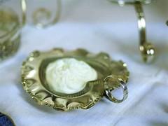 クロテッドクリームやジャムに♡ハートのボンボンディッシュ ガラスのライナー付き