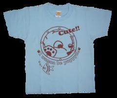 半袖Tシャツ 水族館  サックス