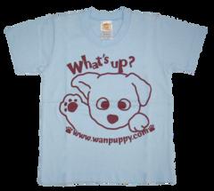 半袖Tシャツ What's up! サックス