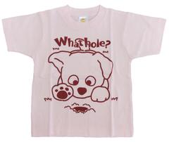 半袖Tシャツ モグラ  ピンク