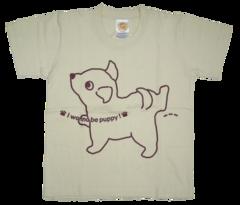 半袖Tシャツ wee-wee ナチュラル