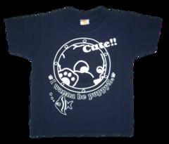 半袖Tシャツ 水族館  ネイビー