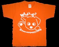 半袖Tシャツ What's up! オレンジ