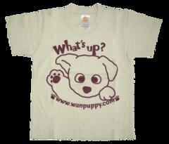 半袖Tシャツ What's up! ナチュラル