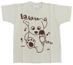 半袖Tシャツ ラララ  ナチュラル