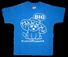 半袖Tシャツ Big & Small  ターコイズ