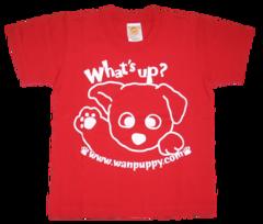 半袖Tシャツ What's up! アカ