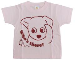 半袖Tシャツ アヒル  ピンク