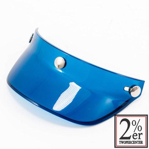 オーシャンビートルヘルメットバイザー/ブルー BEETLE VISOR