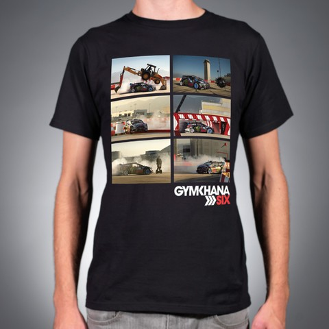 フーニガンケンブロック   ジムカーナ 6フォトパック Tシャツ