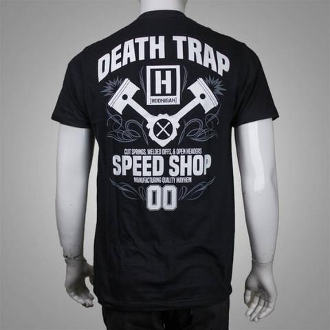 デストラップスピードショップ Tシャツ ブラック