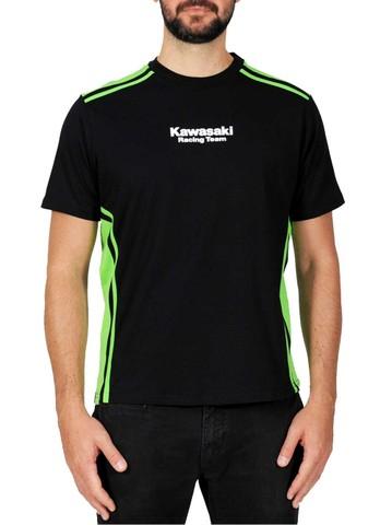 カワサキレーシング シンプルラインTシャツ ダブル
