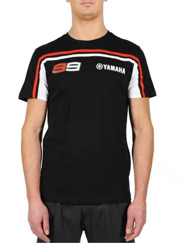 ヤマハ公式 ホルヘロレンソ Tシャツ ブラックレッド