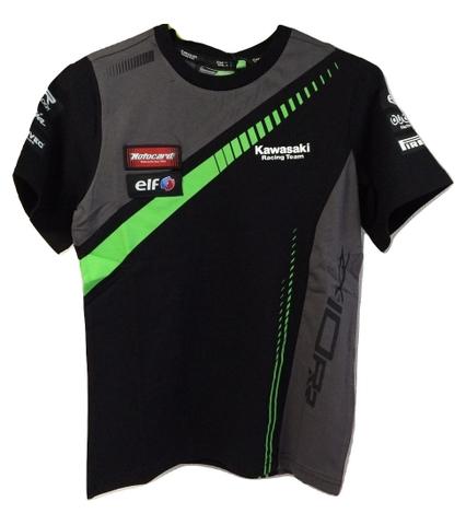 レディース!スーパーバイクファクトリーkawasakiレーシングTシャツ19
