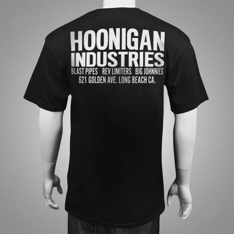 フーニガン フーニガンショップ ブラック・ネイビー Tシャツ
