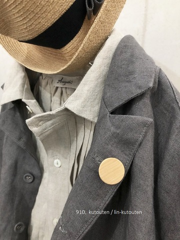 mature-ha. × TAGAMI  flower pin(HAT PIN)