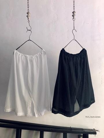 【通年インナー】Cotton100シンプルペチコート