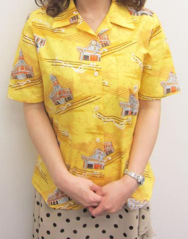 門司港さらさシャツ(女性用)