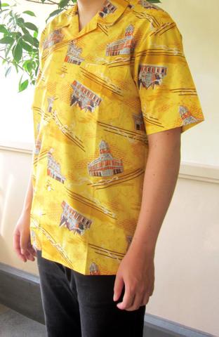 門司港さらさシャツ(男性用)